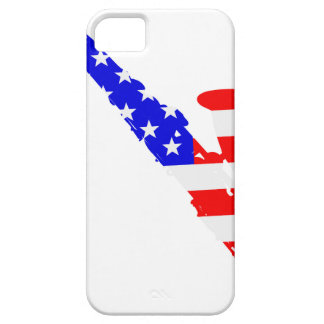 Saxophone Flag Background iPhone 5 Cover