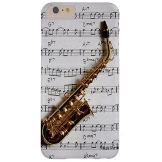 Saxophone Just One Note Barely There iPhone 6 Plus Case