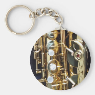 Saxophone Key Ring