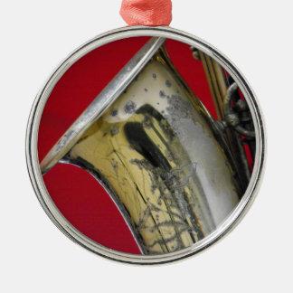 Saxophone Metal Ornament