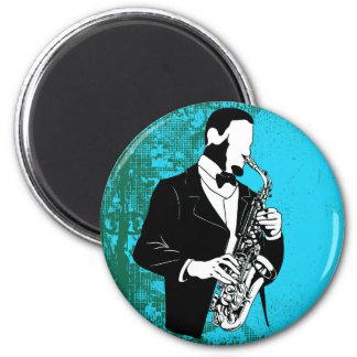 Saxophone Music Magnet Magnet