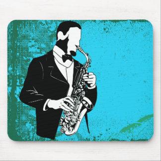 Saxophone Music Mousepad Mouse Pad