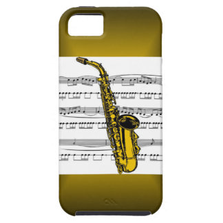 Saxophone ~ Musical Instrument ~ iPhone 5 Case