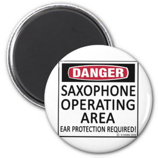 Saxophone Operating Area Magnet