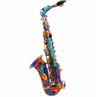 Saxophone Ornament, Saxophone Holiday Tree Gift Photo Sculpture Decoration