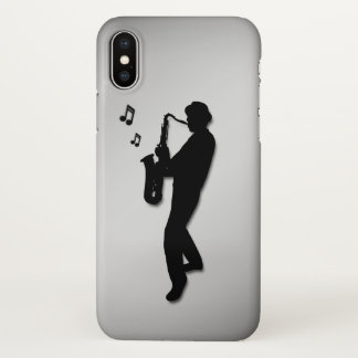 Saxophone Player iPhone X Case