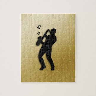 Saxophone Player Jigsaw Puzzle