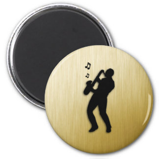 Saxophone Player Magnet