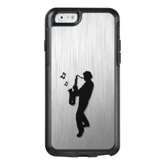 Saxophone Player Silver OtterBox iPhone 6/6s Case