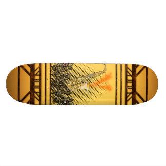 Saxophone Skateboard Deck