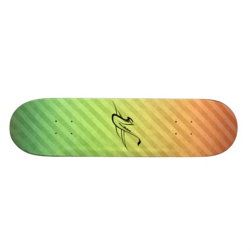 Saxophone Skate Deck