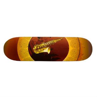 Saxophone 20 Cm Skateboard Deck