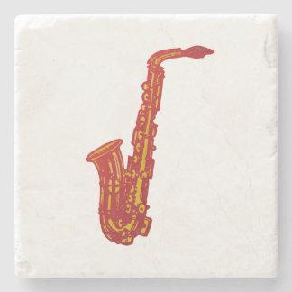 Saxophone Stone Coaster