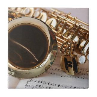 saxophone tile