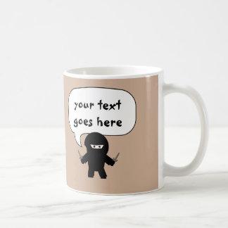 say anything ninja mug