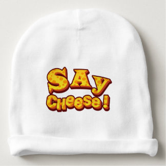 say cheese! baby beanie