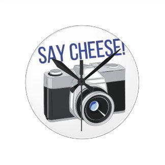 Say Cheese Clocks