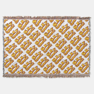 say cheese! throw blanket