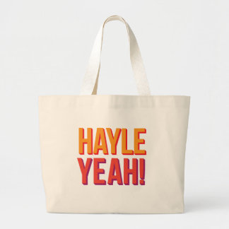 Say Hayle Yeah! If you love Hayle in Cornwall Large Tote Bag