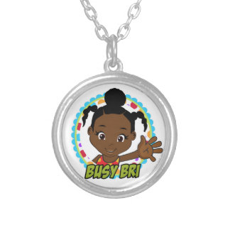 Say Hello to Busy Bri Pendant
