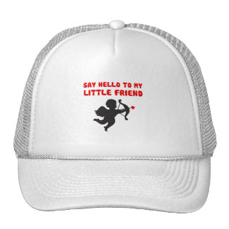 Say Hello To My Little Friend Valentine's Day Cap