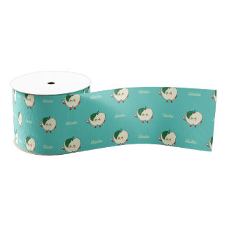 Say Hello to the Apple Grosgrain Ribbon
