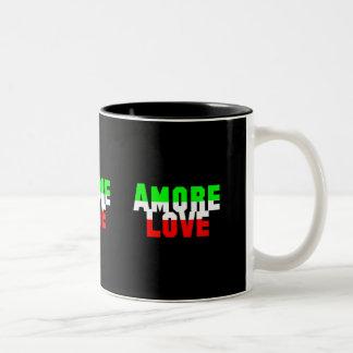 Say it in Italian Love Mugs