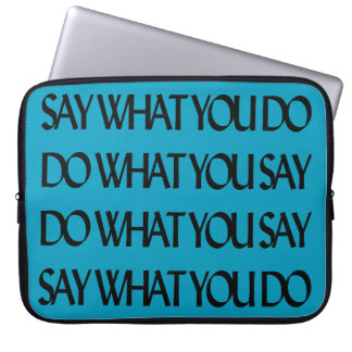 Say It Laptop Computer Sleeves