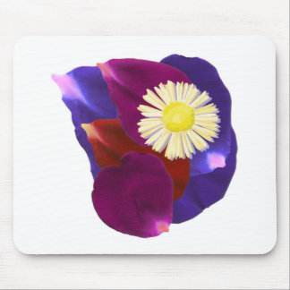 Say it with FLOWERS n WIN :  Rose Petal Art Mouse Pad