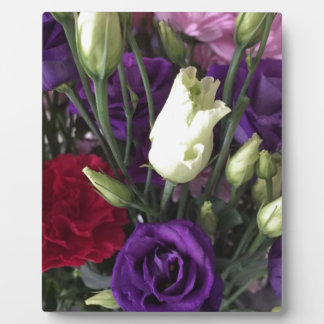 Say Love you with Flowers Plaque