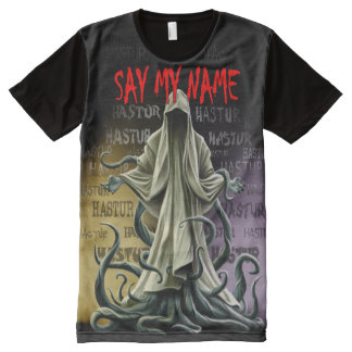 Say My Name: Hastur Hastur Hastur All-Over Print T-Shirt