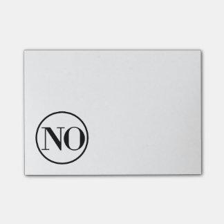Say No Sassy Note Pad Post-it® Notes