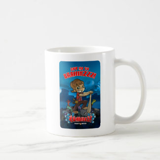 Say no to brainz! coffee mug