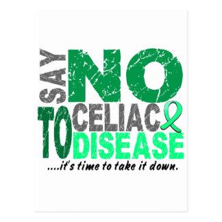 Say NO To Celiac Disease 1 Postcards
