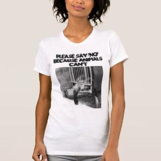 Say No to Circuses Tee Shirts