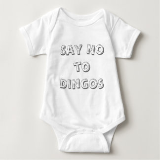Say No to Dingos Baby Bodysuit