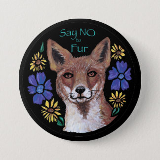 Say NO to Fur Button