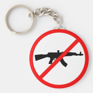 Say No To Guns Keychains