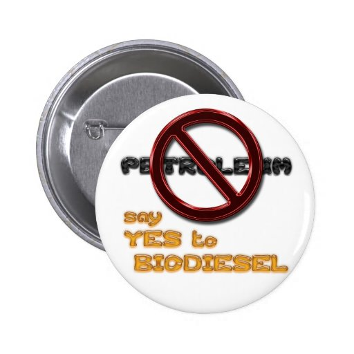 Say NO to PETROLEUM, say YES to BIODIESEL button