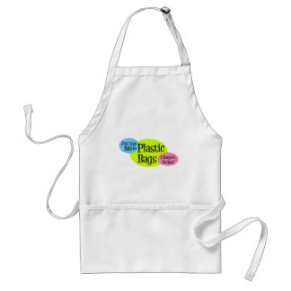 Say No to Plastic Bags Aprons