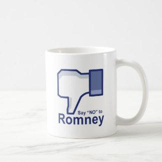 Say No to Romney Mugs