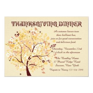 Say Thanks Thanksgiving Dinner Party Invitation