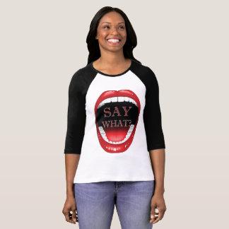 Say What? Logo T-Shirt