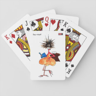 Say what? Playing cards by Jenkxe