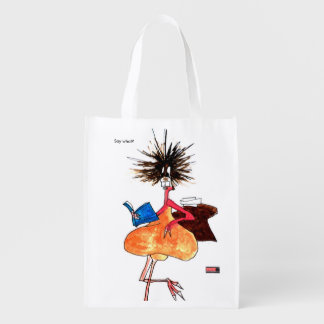 Say what? tote bag by Jenkxe