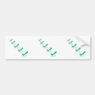 Say YES symbols KEY CHAIN, MAGNET,BUTTON STICKERS Car Bumper Sticker
