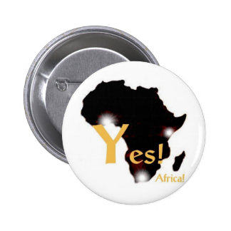 Say Yes! to Africa! 6 Cm Round Badge