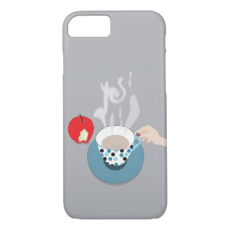 Say Yes to Coffee and Great Britain Phone Cover