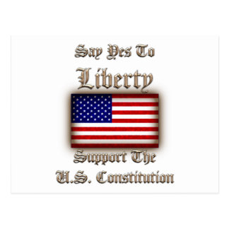 Say Yes To Liberty Post Card