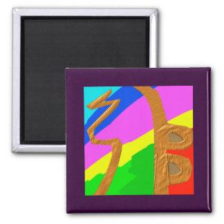 Sayhayki   BOLD Rainbow Magnet